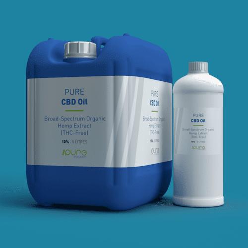 Pure Production Bulk Packshot - CBD Oil
