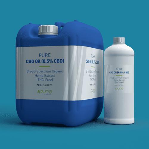 Pure Production Bulk Packshot - CBG Oil