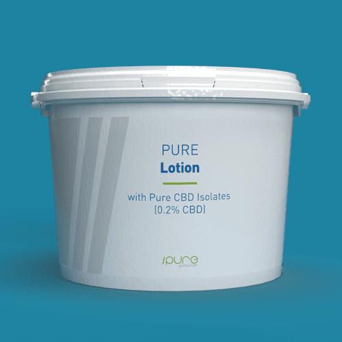 Pure Production Bulk Packshot - Lotion with CBD Isolates